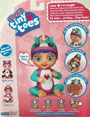 Teeny Tiny Toes - Interactive Dolls Who Just Love Tickles!