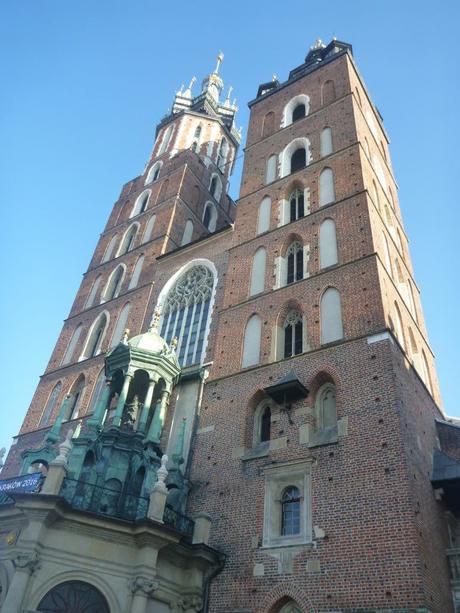 Downtown Kraków: St. Mary's Basilica