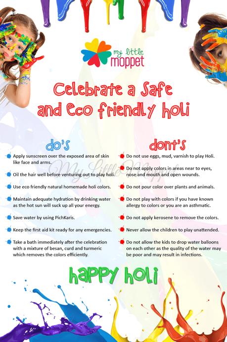 how to celebrate safe and eco friendly holi