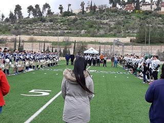 The Israel Football League Isra-Bowl was a lot of fun!