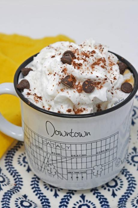 Dairy Free Thin Mint Latte