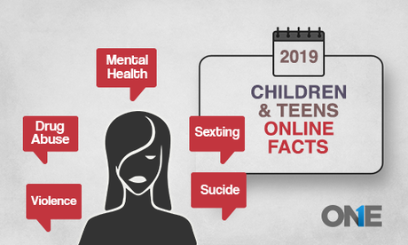 Children and Teens Online Facts