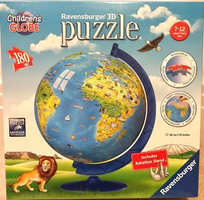 Ravensburger Children's World Map 3D Puzzle Review