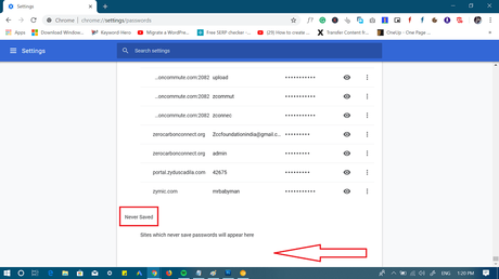 How to Save Password in Google Chrome When Not Asked - Paperblog