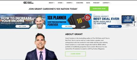 Grant Cardone Store Discount Coupon March 2019: Get Upto 20% Off