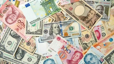 a list of foreign currencies