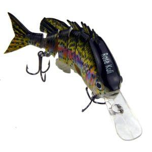 Topwater Multi Jointed Trout Crankbaits