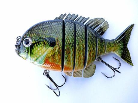 Panfish Talipia for Bass Fishing Lure