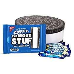 Image: OREO The Most Stuf Cookie Collectors Set with Cookies 'n Crème Chocolate Candy Bars and Collectible Gift Box