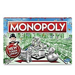 Image: Hasbro Monopoly Classic Game | Buy, sell, dream and scheme your way to riches