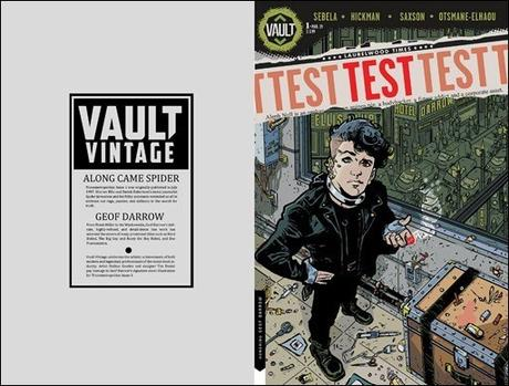 First Look: Test #1 by Sebela & Hickman – Coming in June From Vault Comics