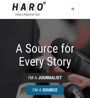 Image:Join HARO as a Source for Link Bulding
