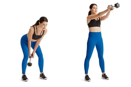 Dumbbell Swing Exercise: Benefits and Variations