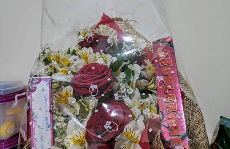 Chocolate bouquet valentines