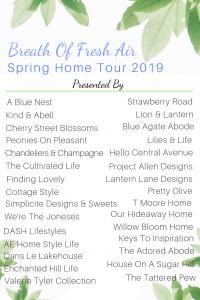 Breath of Fresh Air Spring Home Tour