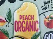 Solero Organic Peach Lollies with Juicy Filling