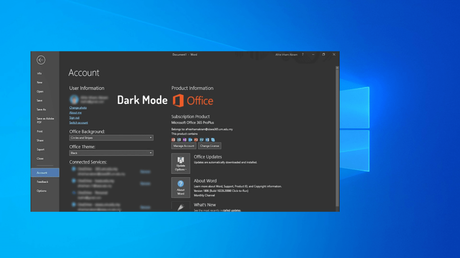 How to Enable Dark Mode in Microsoft Office 365, 2019, & 2016