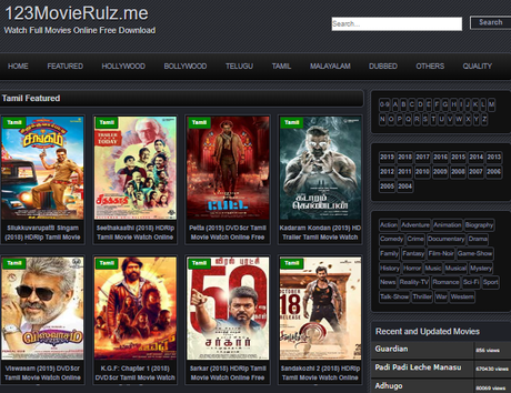 best site to watch free tamil movies online