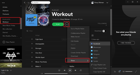 How to Share Spotify Playlist – 2019