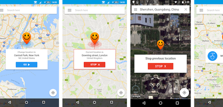 Best Fake GPS apps android/iPhone