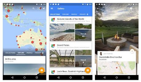 Best 360° video camera Apps Android/ iPhone