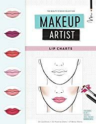 Image: Makeup Artist Lip Charts (The Beauty Studio Collection) Paperback: | 120 pages | by Gina M Reyna (Author). Publisher: CreateSpace Independent Publishing Platform (October 17, 2016)