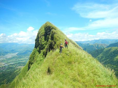 Mt. Igcuron knife edge ridge