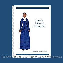 Image: Harriet Tubman Paper Doll by Nova M. Edwards