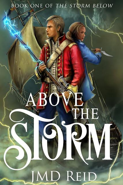 ABOVE THE STORM: Coming-Of-Age Fantasy Adventure from Author JMD Reid