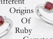 Different Origins Ruby Gemstone