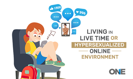 Living in live Time or Hypersexualized Online Environment