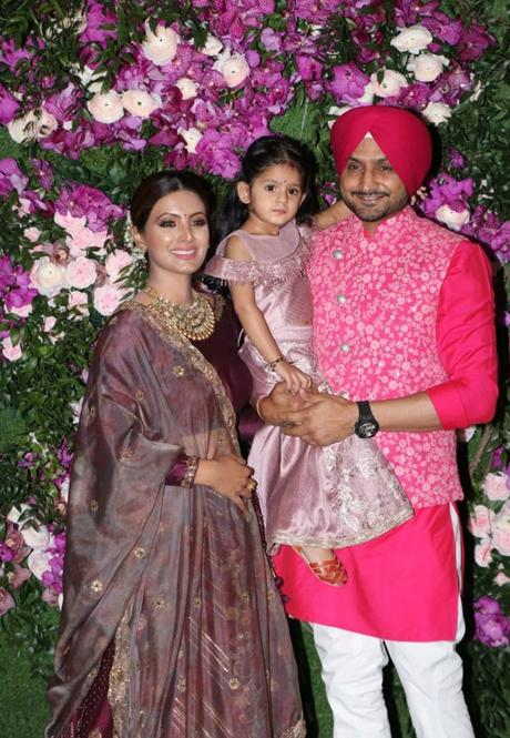 Harbhaian Singh and his family at Wedding