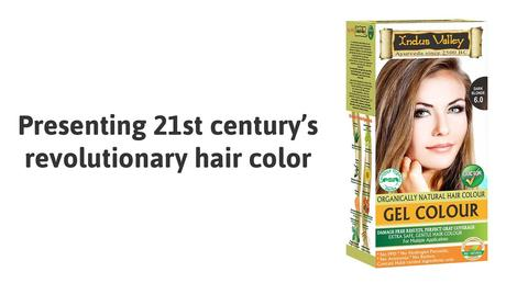 indus valley hair color