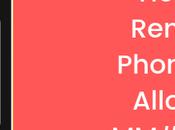 Remove Phone Allowed MM#6 Error