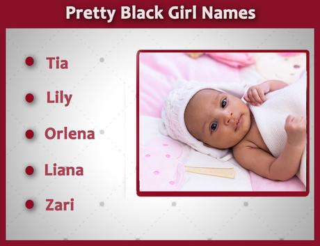 Black Girl Names: That Are Seen As Ghetto But Are Not [Pretty Names