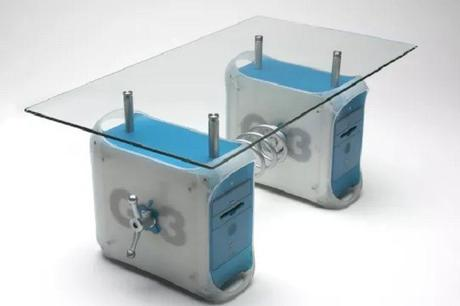 A Coffee Table Made From Recycled iMac G3's