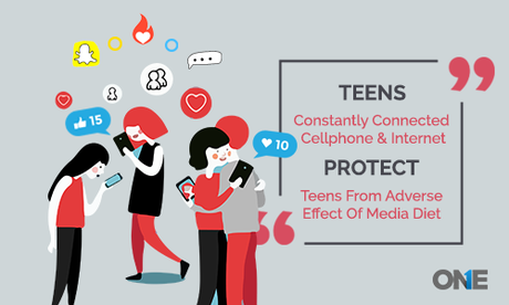 Protect Teens From Adverse Effects of Internet and Media Diet