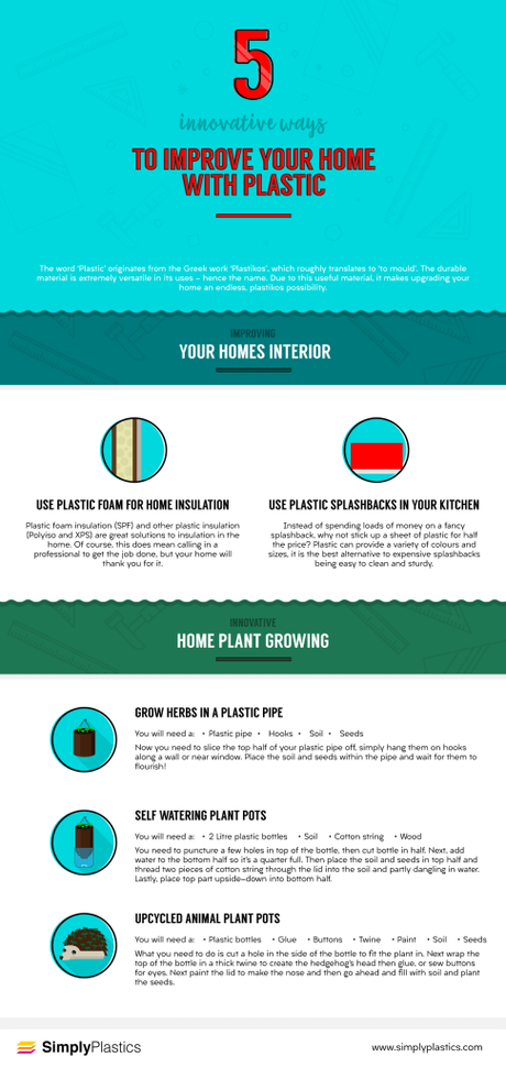 5 things you can do with plastic to improve your home