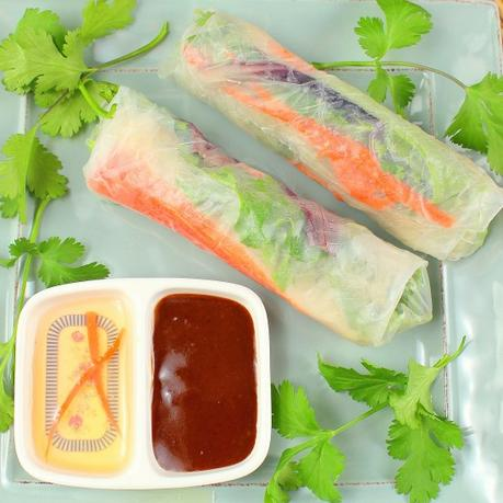 Vietnamese Soft Rolls with Crab #FantasticalFoodFight