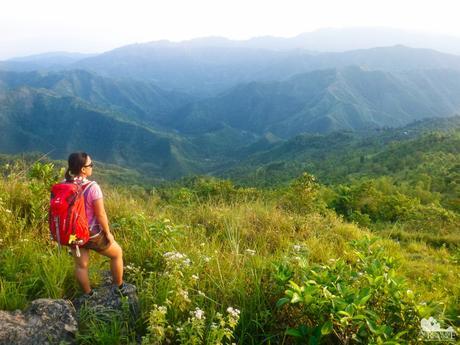 Stunning view on top of Danasan Peak