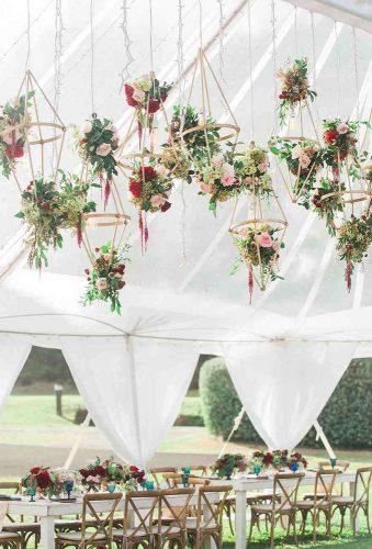 wedding hanging installations hanging flowers decor janadillonphotography