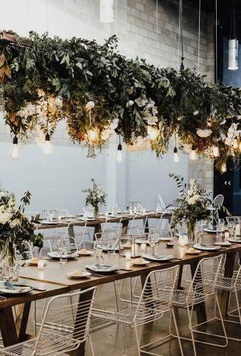 wedding hanging installations chic light decor lover ofmine