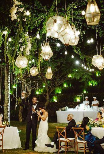 wedding hanging installations chic lanterns Samm Blake