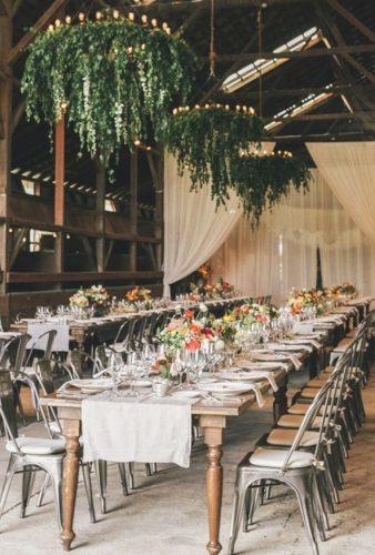 wedding hanging installations rustic wedding decor Edyta Photography
