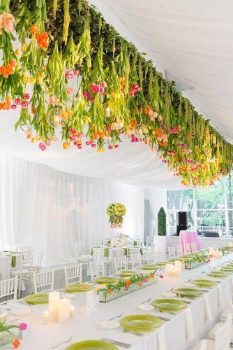 wedding hanging installations spring tulps ericandjamiephoto