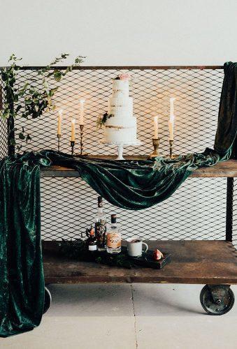 velvet wedding decor velvet cake decor The Rowlands