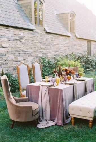 velvet wedding decor tender velvet reception thismodernromance