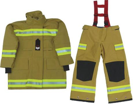 Firefighters don't wear Dresses & Thigh High Boots with Heels!