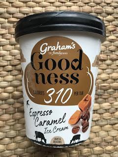 Graham's Goodness Espresso Caramel Ice Cream