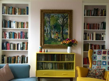 A Tour of My Bookshelves